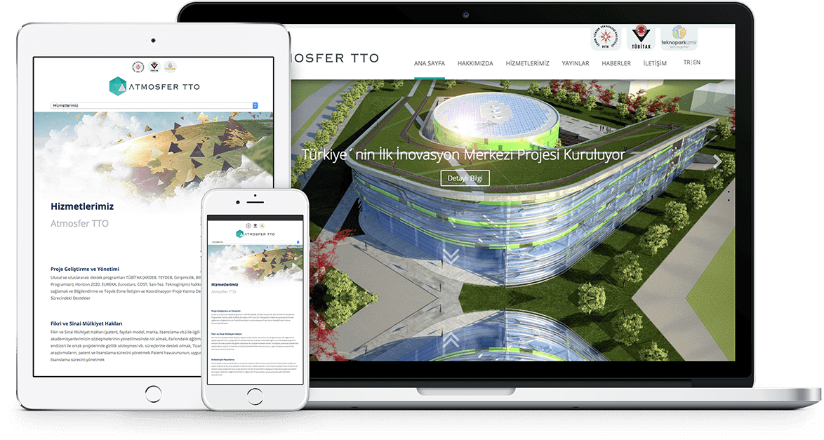ATMOSFER TTO | Web Tasarım
