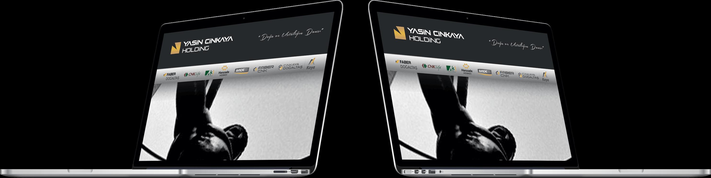 YASİN CİNKAYA HOLDİNG | Web Tasarım